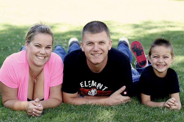 Danielle, Kyle, Gage and Brooklyn - Hanford Civic Park August 2012