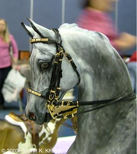 Miniature Double Bridles