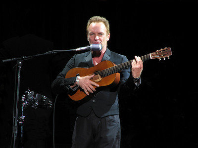 Sting with the Royal Philharmonic Concert Orchestra (Symphonicity) - 12 Jun 2010 - Sleep Train Pavilion - Concord, CA