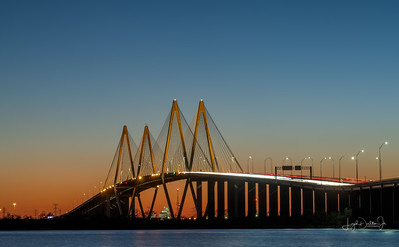 Bayland Marina & the Fred Hartman Bridge