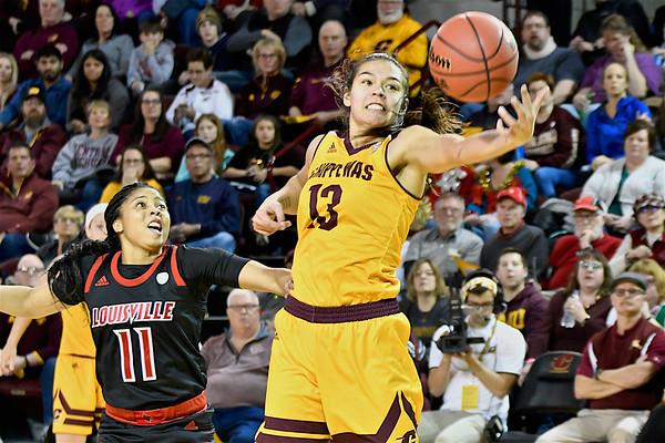 MS CMU vs Louisville Women's Basketball