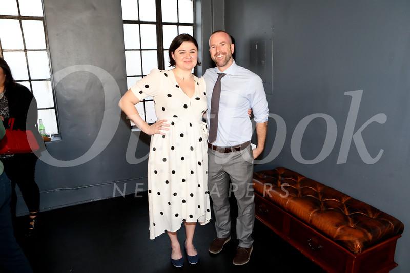 """Belleville"" director Jenna Worsham and Pasadena Playhouse Artistic Director Danny Feldman.jpg"