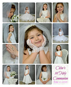 Chloe's Communion 2015