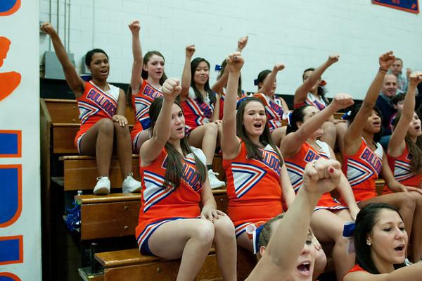 2011-02-15 Cheerleaders - Dayton vs Union
