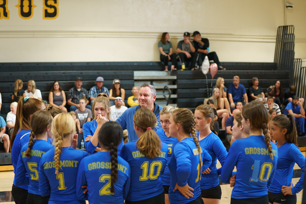 10-22-19 Grossmont VB Frosh and JV