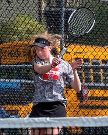 MHS Girls Tennis vs Wilmington 18MAY21