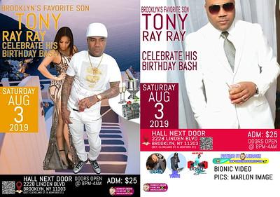 """TONY RAY RAY """"BIRTHDAY CELEBRATION""""(0)"""