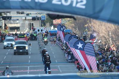 Women at 18.2 Mile Mark - 2012 US Olympic Trials Marathon