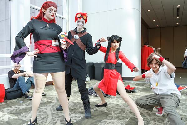 Sakura-Con 2014 all the costumes