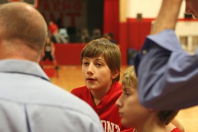 Middle School Boys Basketball 7A - 2008-2009 - 1/14/2009 Newaygo