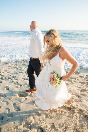 La Jolla San Diego Beach Sunset Wedding Photographer 92037