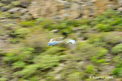 40 Rally Islas Canarias Entrenamientos libres Calificacion y Shakedown