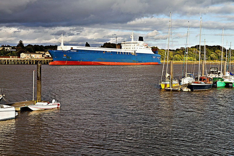 Swedish RORO cargo ship M/S Finnforest