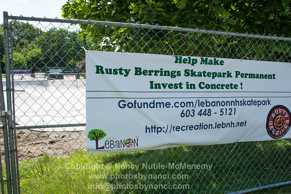 Rusty Berrings Skate Park Lebanon NH