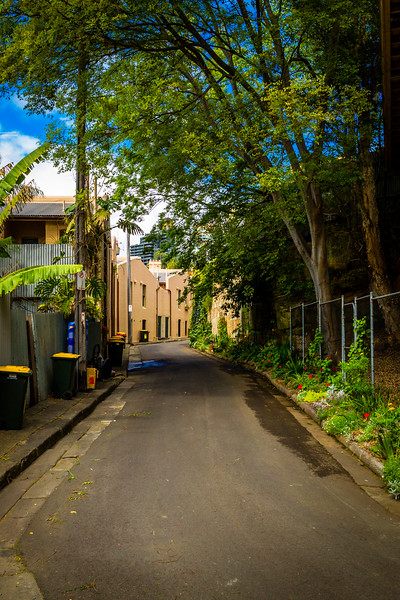 Millers Point : Rodens Lane