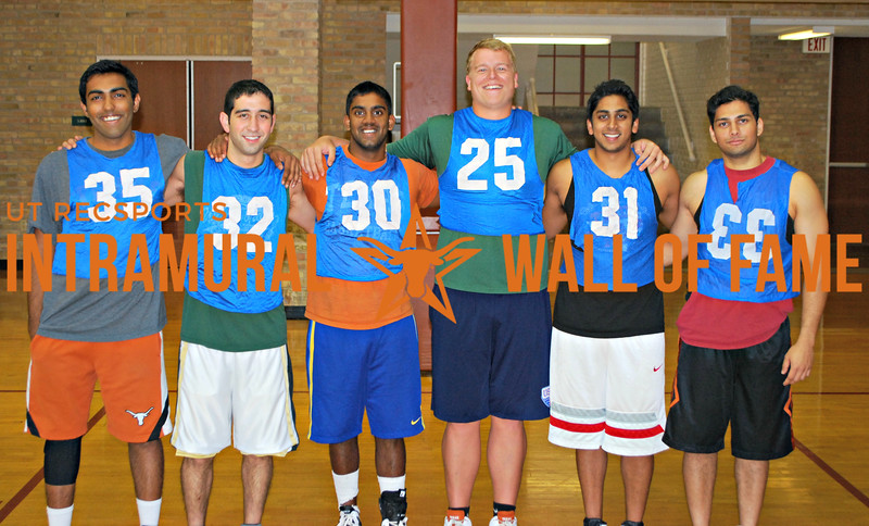 SUMMER BASKETBALL Runner Up  3>2  Dhananjay Kumar, Arman Nouri, Udaya Tenneti, Alex Engelman, Sachin Sreenivasan, Farees Siddiqui