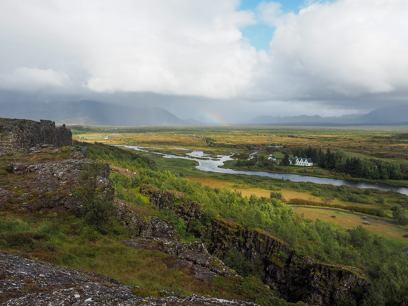 Þingvellir National Park in Iceland