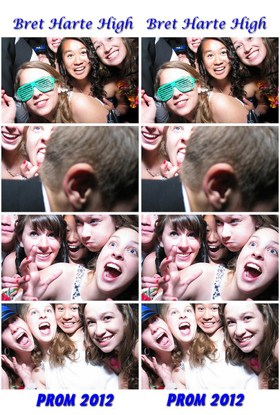 Bret Harte High Prom 2012