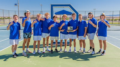 2021-04-29 Dixie HS Tennis Senior Day