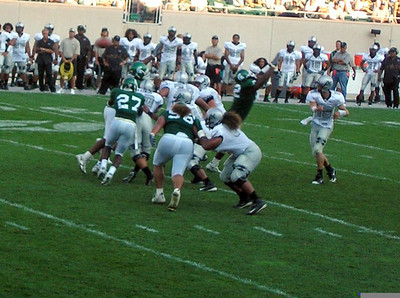 Hawaii at MSU football 2005