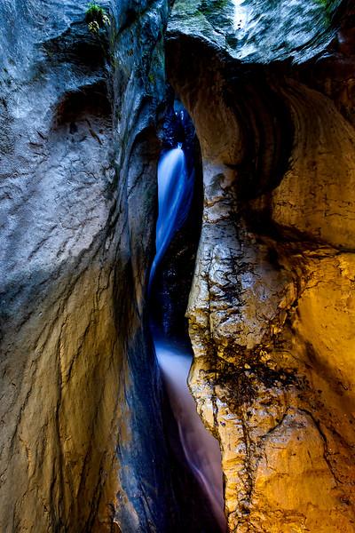 Switzerland - Trummelbach Falls (Oct 2011)