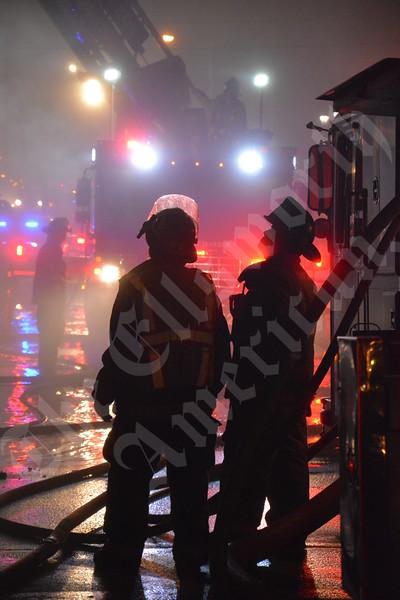 Portside Grill Fire
