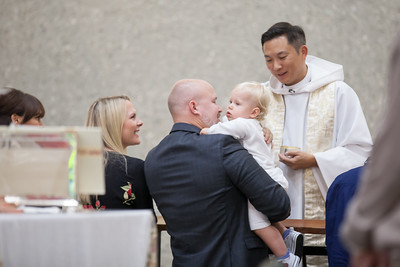 Merrick's Baptism