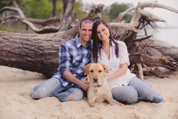 Rachel and Matt, Roaring Point, MD