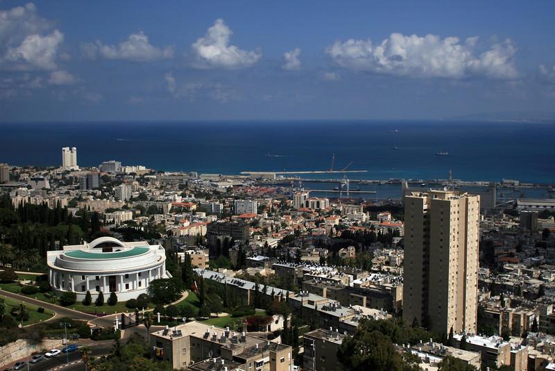 Haifa views.
