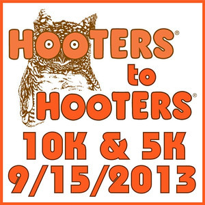 2013.09.15 Hooters to Hooters 10K 5K