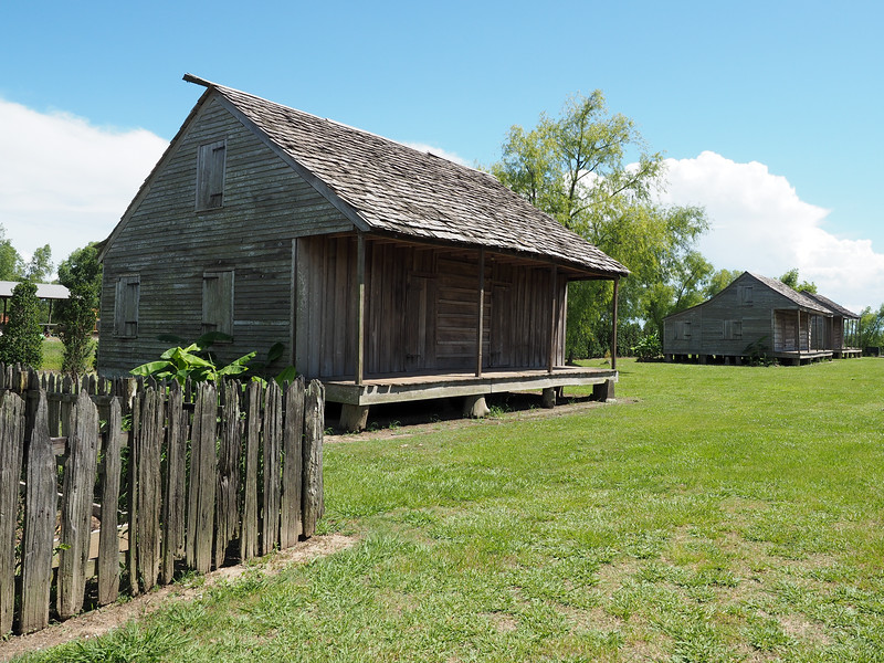 Slave quarters at Whitney Plantation