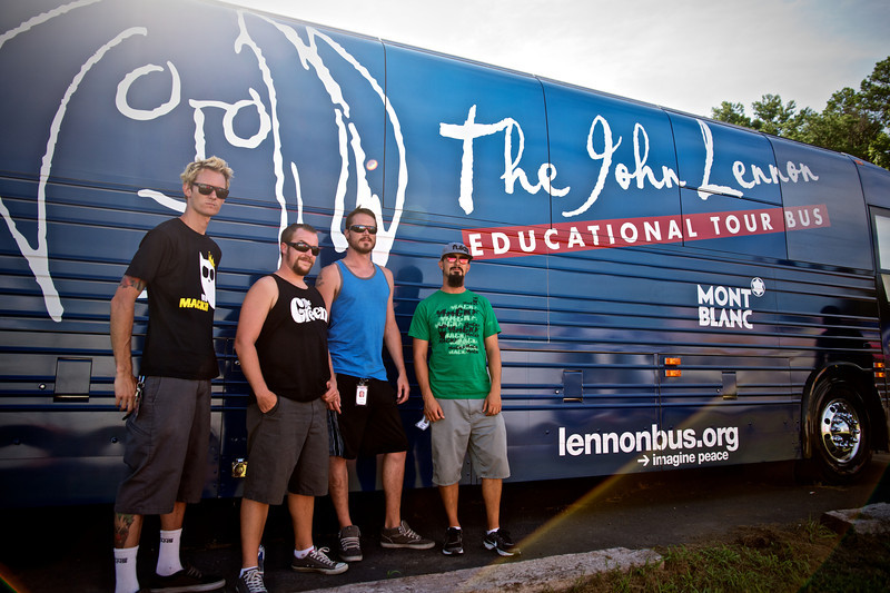 2012_07_25, Warped Tour, lb.org, lennonbus.org, Virginia Beach, VA, Ballyhoo