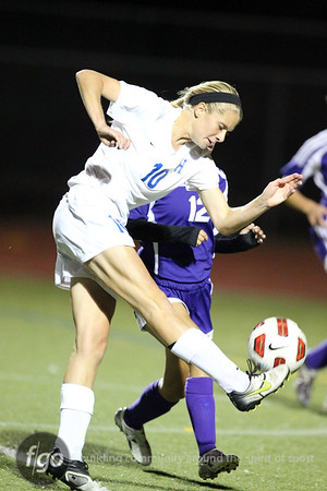 Minneapolis Southwest v Hopkins Girls Soccer Sctionals 10-13-11