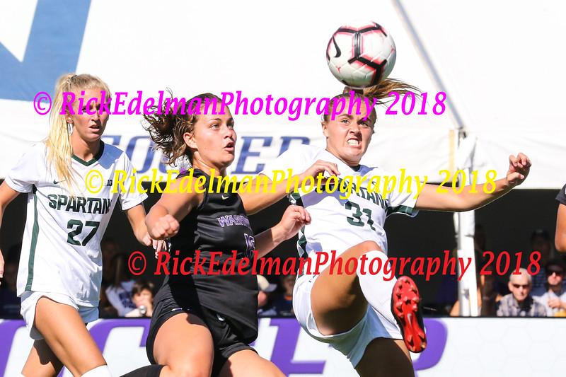 Michigan State vs UW Womens Soccer