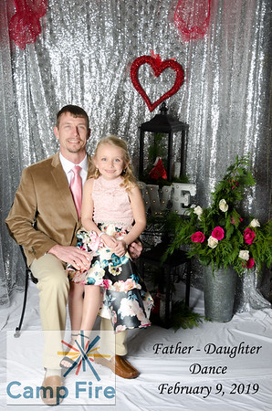 Camp Fire Father - Daughter Dance