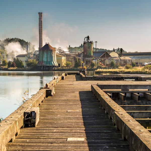 Raymond, WA Lumber Mill