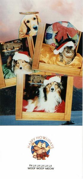 G-Residence Christmas Cards 1993-2017