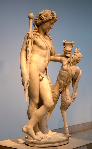 Roman Sculpture of Dionysus