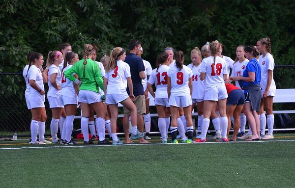 Varsity Girls Soccer:  GA vs Unionville