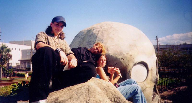 Dan, Rose, and Bryan at Plaza Aquatica
