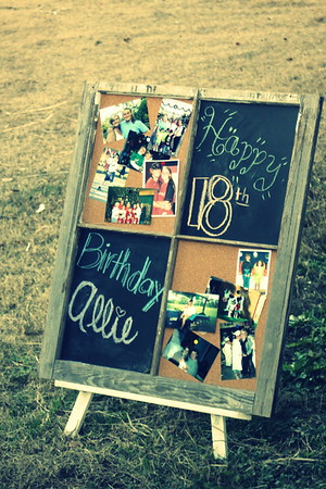 2014 Allie Kelley 18th Birthday Party