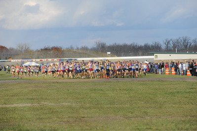 Starting Line - D2 Boys 2015 MHSAA LP XC