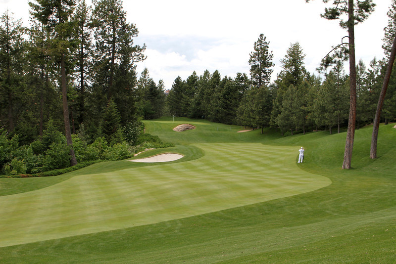 The Couer d'Alene Resort, Couer d'Alene, ID - Hole #4