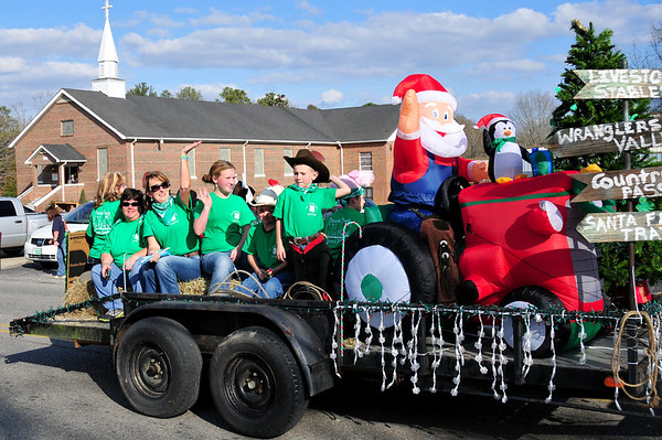 Hokes Bluff Christmas Parade 2012
