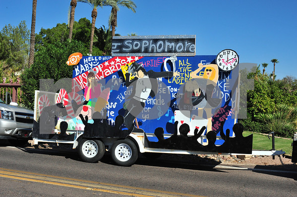 Arcadia Homecoming Parade 9-11