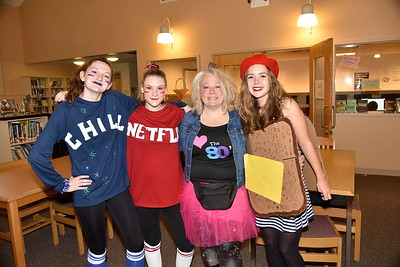Halloween Hits The Halls of AMHS photos by Gary Baker