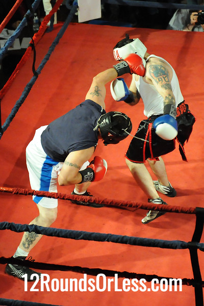 Bout 6 Tony Groys, Chagrin Valley BA -vs- Johnnie Thompson, Terminaton BC, Akron, 178 lbs Sub-Novice