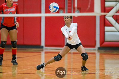 9-14-16 Minneapolis Southwest Lakers v Minneapolis Patrick Henry Patriots Volleyball