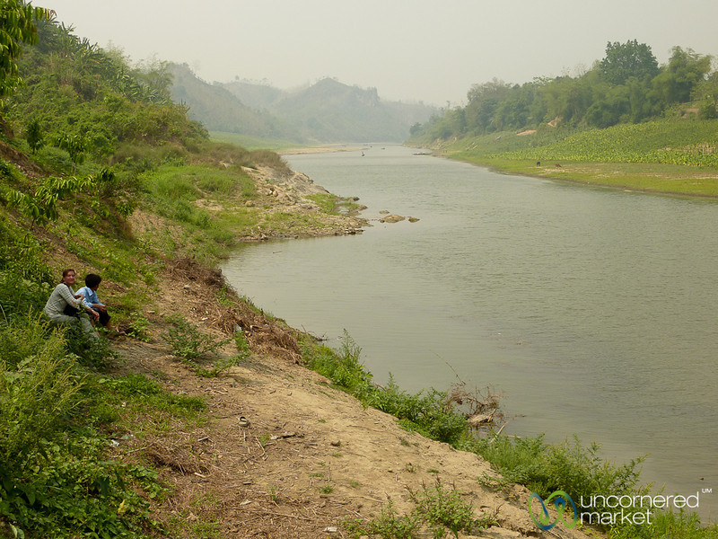 Waiting By Shangu River at Bandarban - Bangladesh
