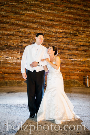 Heather & Matthew Color Wedding Photos